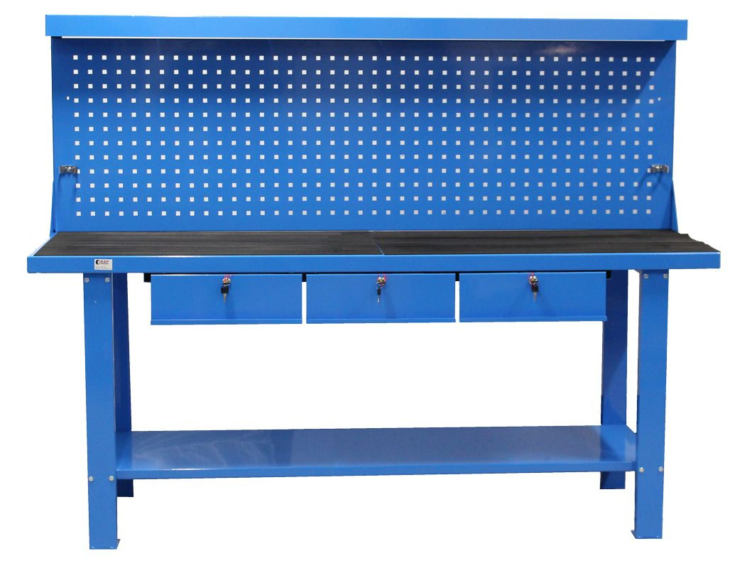 Workbench with tool panel BP-203C