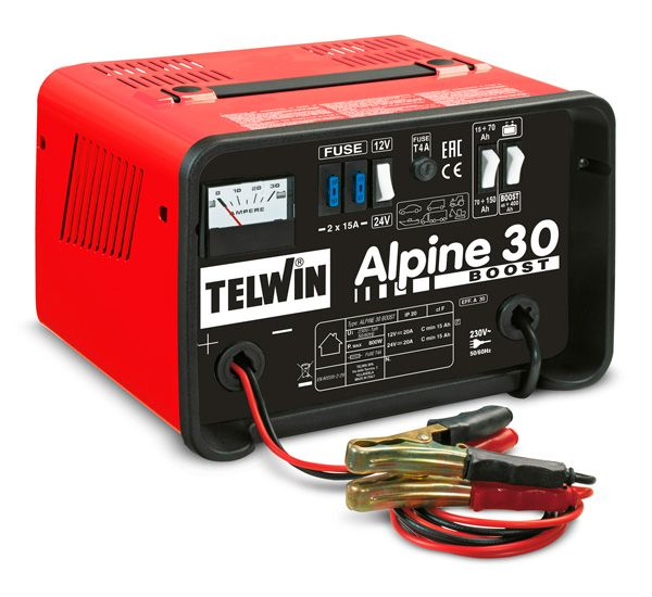 Battery charger alpine 30 boost