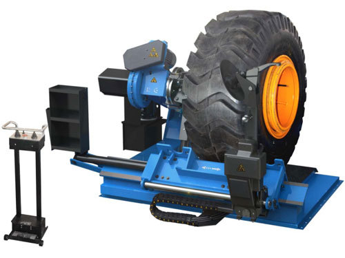 Tire changer for trucks and buses DC - 130