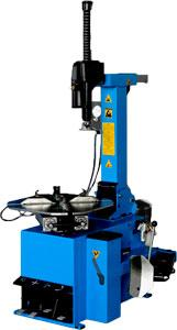Tire changer with support arm DT-704