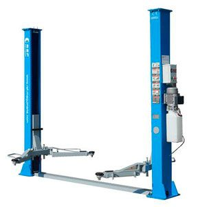 2 column lift synchronized by steel cables HP - 40M2