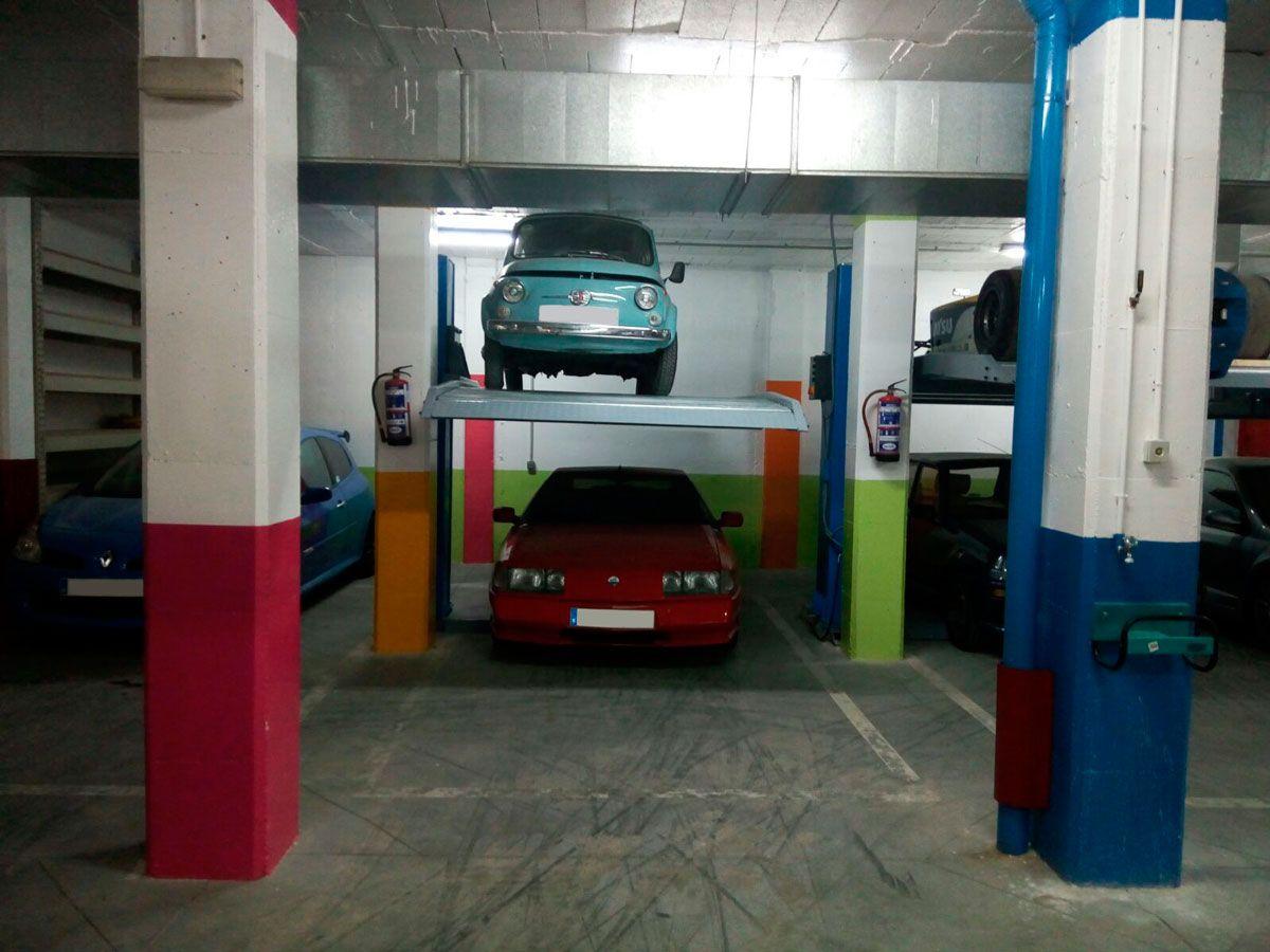 Duplica tu plaza de aparcamiento for Plaza de aparcamiento
