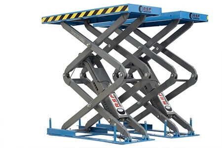 Car Scissor Lifts empotrable XT - 35B