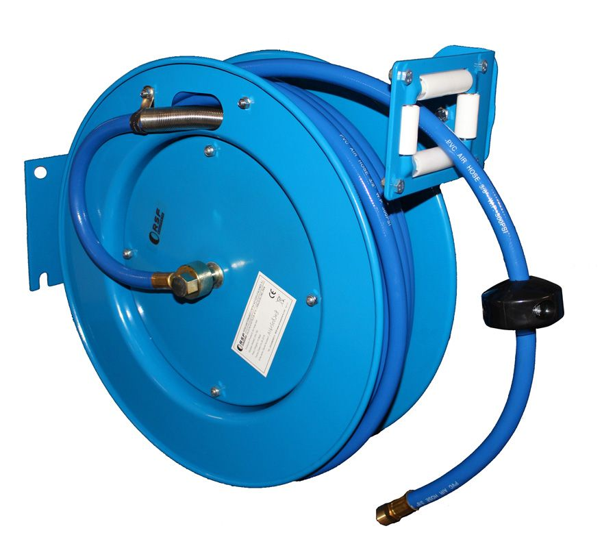 Retractable air hose reel EN - 150