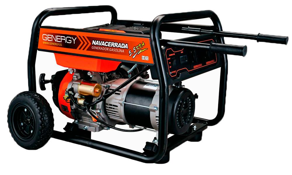 Generador el ctrico genergy navacerrada - Generadores electricos de gasolina ...