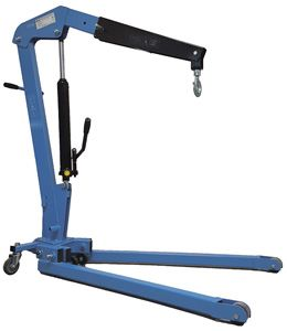 Foldable Shop Crane 1 Tonne
