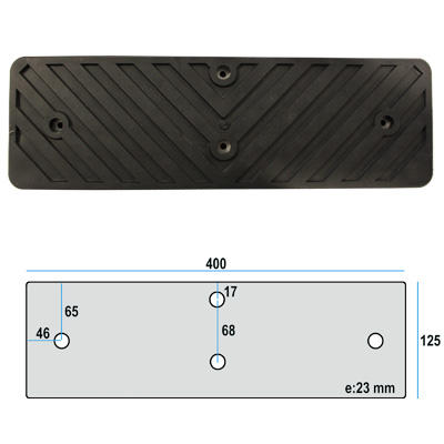 Rubber pads G12B
